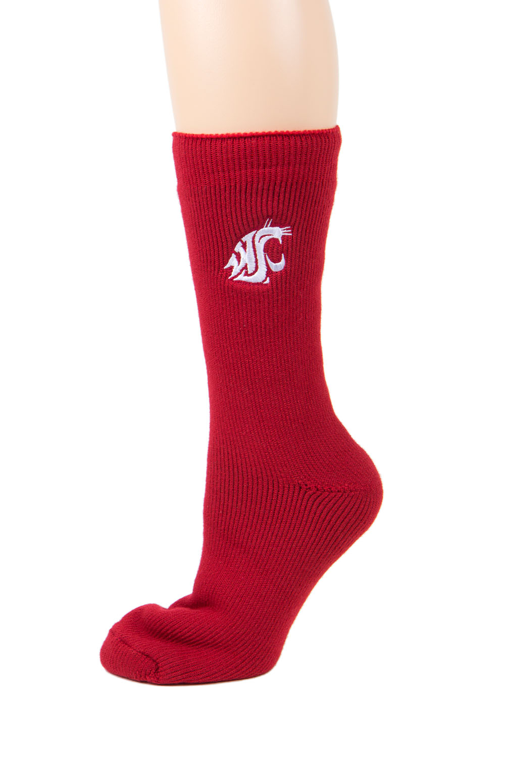 Washington State Cougars Red Thermal Sock by Donegal Bay