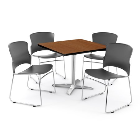 Gray Plastic Seat (Multi-Use Break Room Package, 36