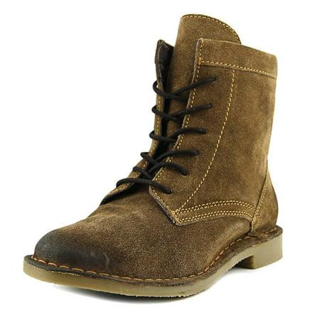 Naughty Monkey Womens Rock - Naughty Monkey Shasta Peak Women  Round Toe Leather Brown Boot