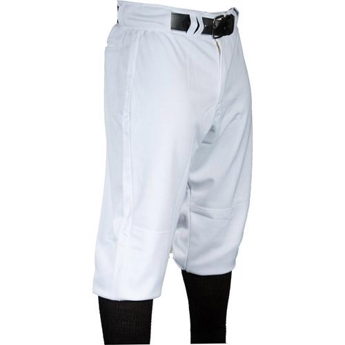 Louisville Slugger Men's Slugger Old School Heavy-Warp Knit Baseball Pants, White