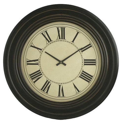 aspire oversized 31 5 wall clock walmart