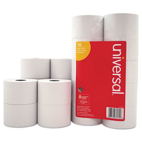 1-Ply Cash Register/Point of Sale Roll, 10 Rolls (UNV35744)