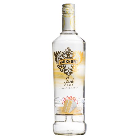 Smirnoff Iced Cake Vodka 750 Ml