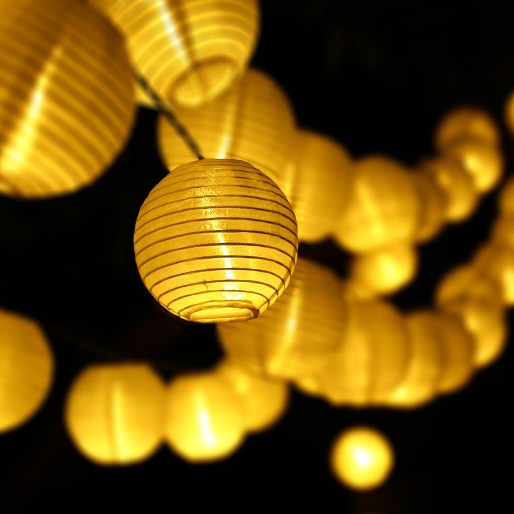 2pack Qedertek Christmas Lights Led Decoration Lantern Solar Lights Led Fairy Decoration