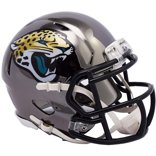 Fanatics Authentic Riddell Jacksonville Jaguars Chrome Alternate Speed Mini Football Helmet Walmart Com Walmart Com