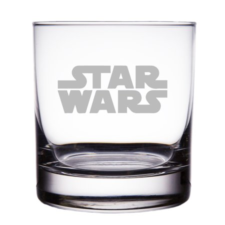 Star Wars Engraved 10 oz Rock (Engraved Glass Piece)
