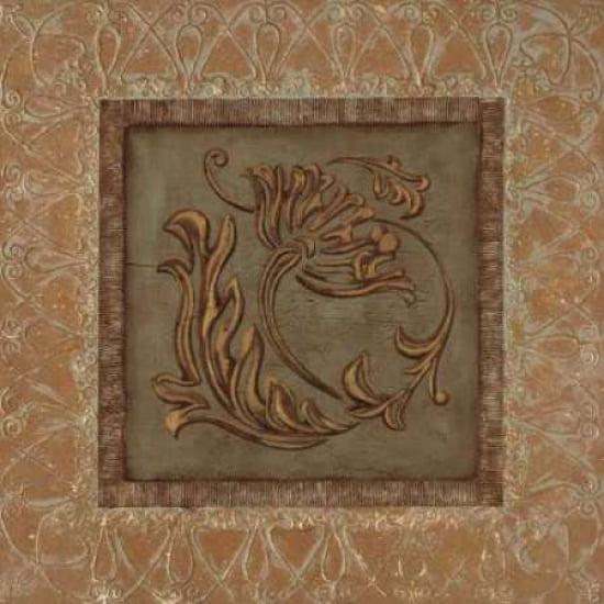 Posterazzi Iconic Gold II Canvas Art - Pamela Smith (24 x 24)