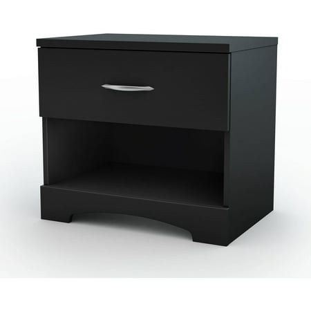 South Shore SoHo 1-Drawer Nightstand, Multiple Finishes (Knight Stand)