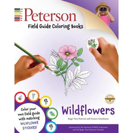 Peterson Field Guide Coloring Books: - Wildflowers Coloring Book