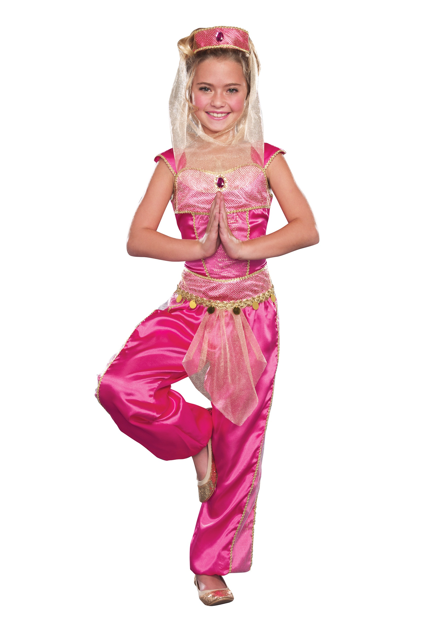 Girls Dream Genie Costume - Walmart.com