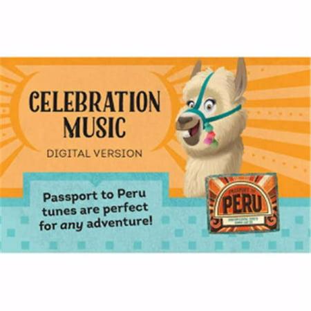 Group Publishing 195078 Vbs Passport To Peru Celebration Music Download Card
