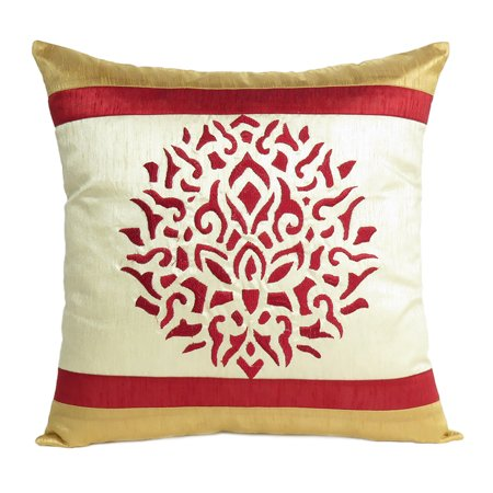 Red Soft Decorative Cushion Covers Throw Pillow Cases For Outdoor Patio Garden Lawn Sofa Couch Decor For Christmas Decoration Ideas 18x18 Inches