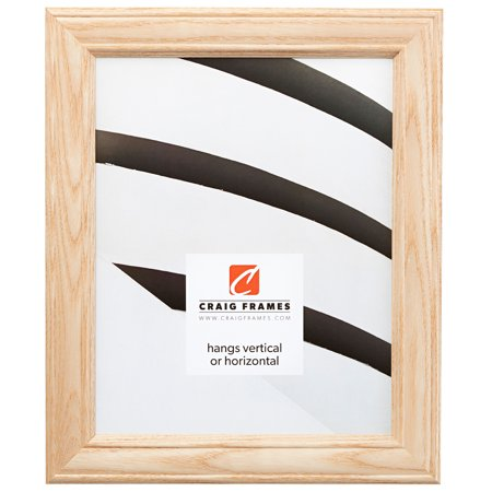 - Craig Frames Wiltshire 595, Unfinished Raw Wood Picture Frame, 8 x 10 Inch