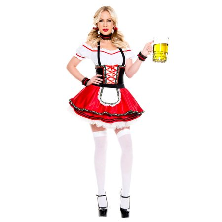 Lovable Oktoberfest Beer Maiden Costume for $<!---->