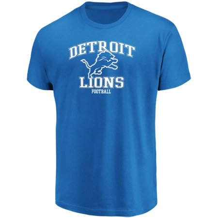 Men's Majestic Blue Detroit Lions Greatness T-Shirt