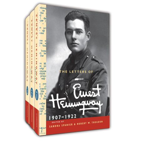 Cambridge Edition Of The Letters Of Ernest Hemingway  The Letters Of Ernest Hemingway Hardback Set Volumes 1 3  Volume 1 3  Other