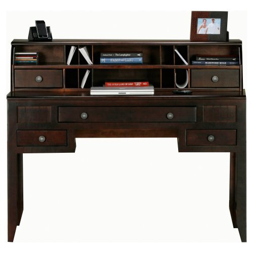 Eagle Furniture Coastal Customizable Writing Desk with Optional Hutch