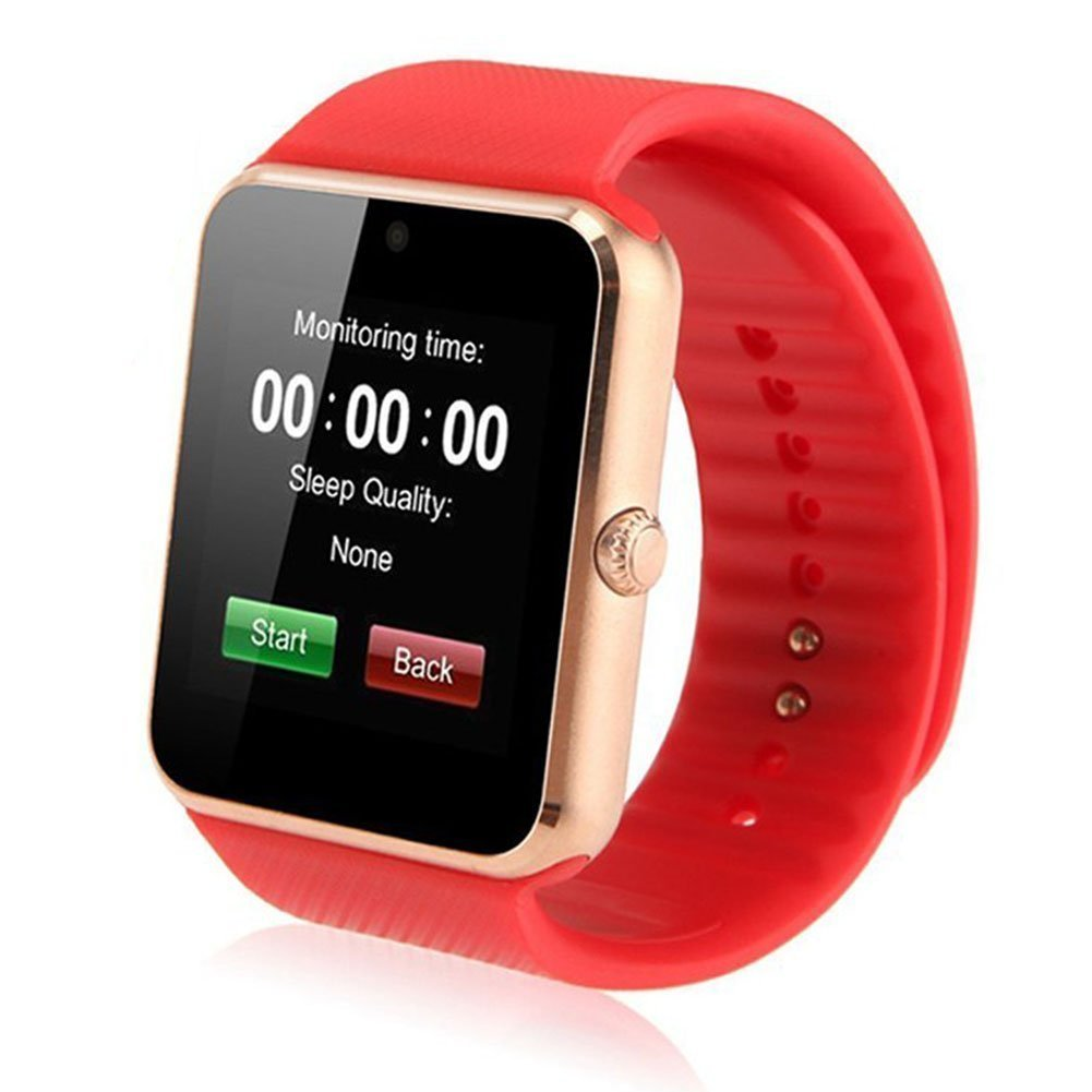 Tagital T6 Smart Watch Bluetooth Wrist Watch with Camera For Android iPhone Smart Phone