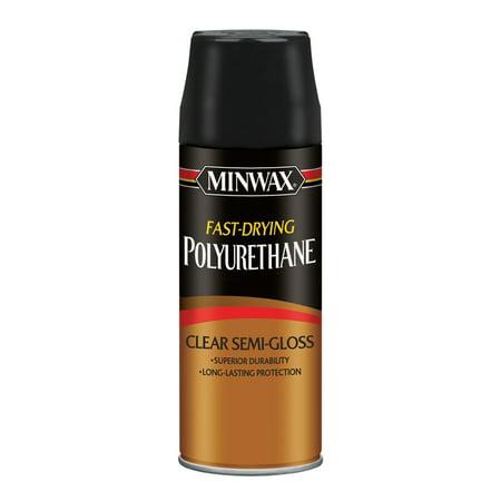 Minwax Polyurethane Clear Semi-Gloss Aerosol 11.5-Oz ()