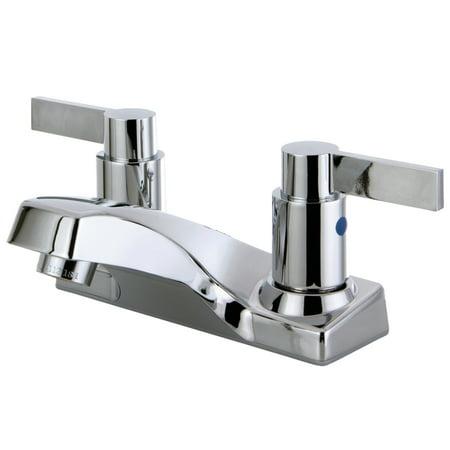 Kingston Brass FB2201NDL 4 in Centerset Bathroom Faucet Polished Chrom