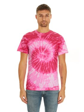 Product Image Tie Dye Style T-Shirts for Men and Women - Multi Color Tops  by Krazy e78c41358811