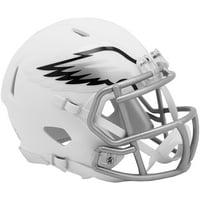 Riddell Philadelphia Eagles Flat White Alternate Revolution Speed Mini Football Helmet