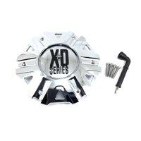 KMC XDS Chrome Wheel Center Hub Cap 6 Lug 5x114.30 for XD822 Monster II