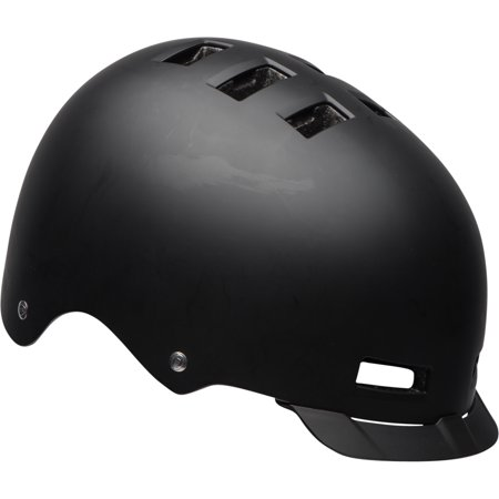 Black Helmet - Bell Sports Trans Adult Multisport Helmet Matte Black