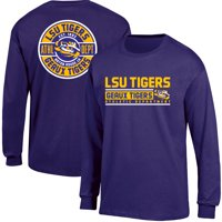 Product Image Men s Russell Purple LSU Tigers Back Hit Long Sleeve T-Shirt 934929d76
