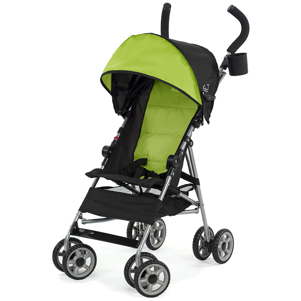 Kolcraft Cloud Lightweight Easy-Fold Umbrella Stroller with Canopy, Spring Green by Kolcraft