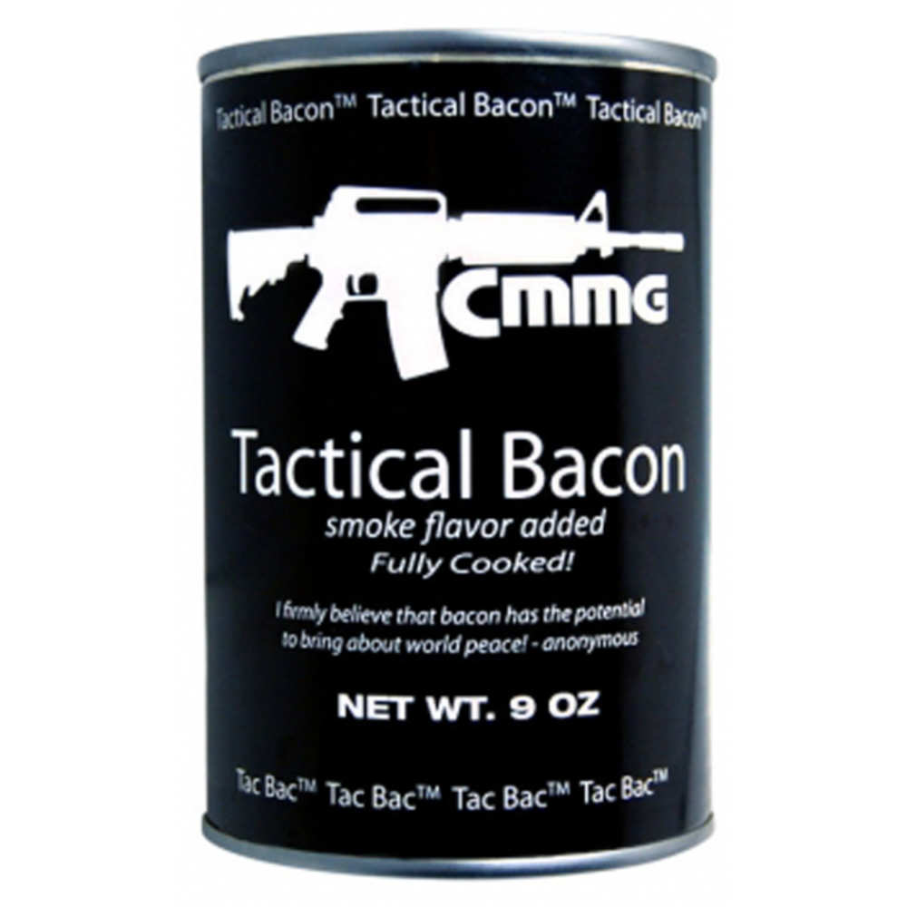 Tactical Bacon, 9oz Cooked by CMMG