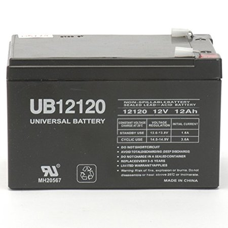 Ub12120 Sealed Lead Acid Battery Replacement 12v 12ah W F2 Terminal
