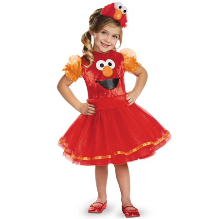 Sesame Street Costumes Adult (Sesame Street Elmo Tutu Deluxe Toddler Halloween)