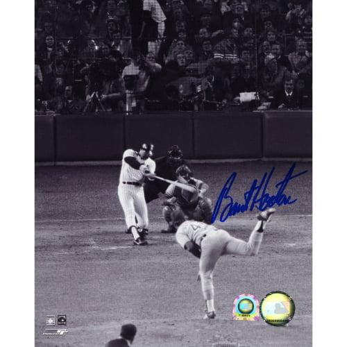 "Burt Hooten Los Angeles Dodgers Fanatics Authentic Autographed 8"" x 10"" Home Run Photograph - No Size"