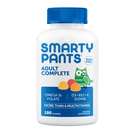 Smarty Pants Vitamins Adult Gummy Multi Vitamins  180 Ct