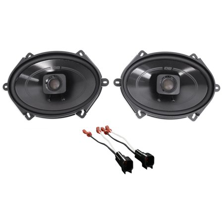Polk 5x7 Front Factory Speaker Replacement Kit For 2004 2006 Ford F 150
