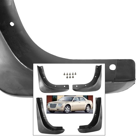 Chrysler 300 Mud Flaps (Front Rear Mud Flaps Splash Guards 2005-2010 Chrysler 300C Mudguards )