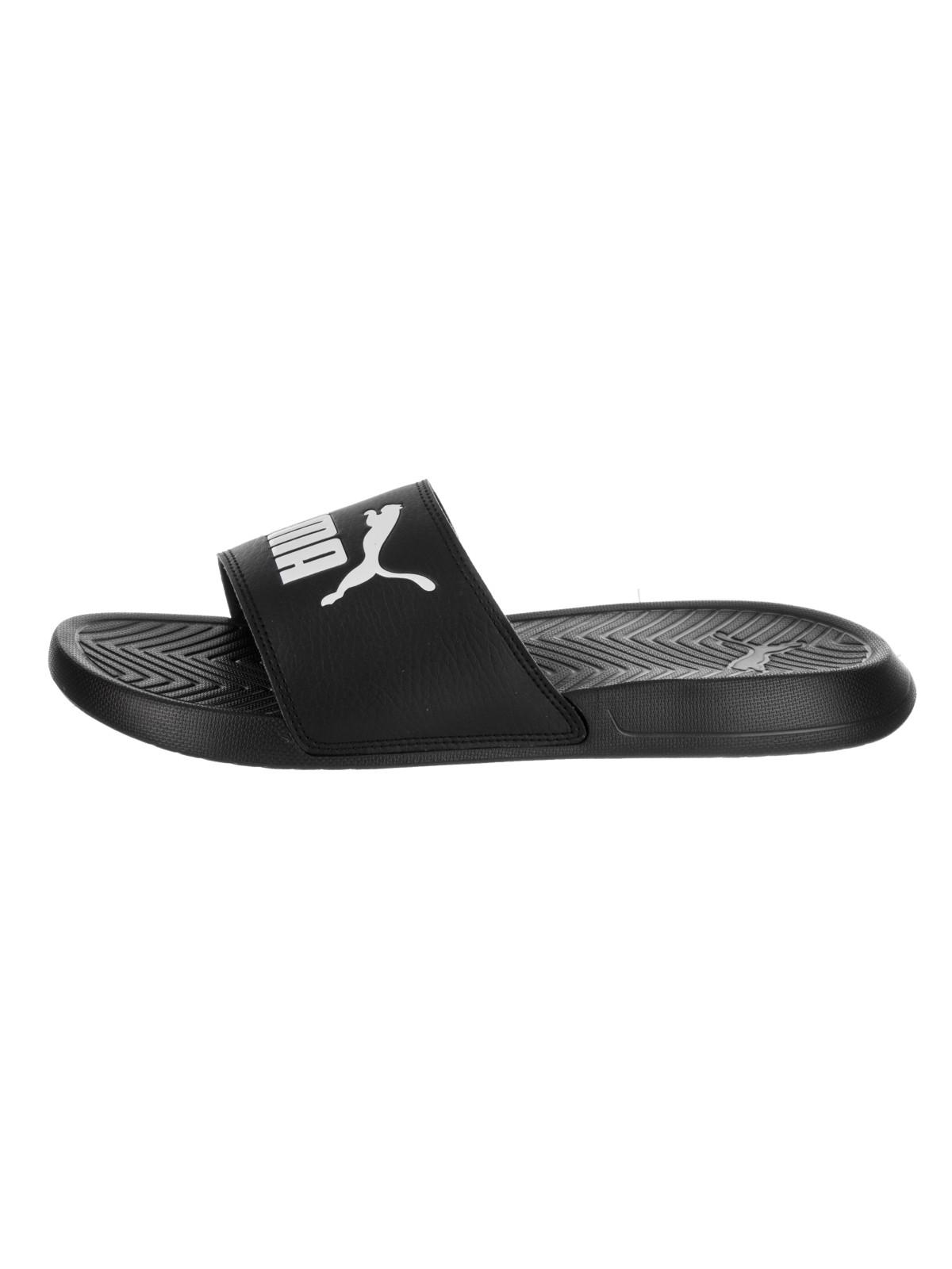69721fa7133 PUMA - Puma Mens Popcat Lightweight Pool Slide Slide Sandals - Walmart.com