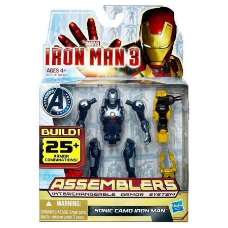 Iron Man 3 Assemblers Sonic Camo Iron Man Action - Sonic Characters Tails
