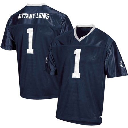 Men's Russell Athletic Navy Penn State Nittany Lions Replica Football Jersey Penn State Nittany Lions Jersey