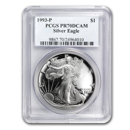 Eagle Proof Set (1993-P Proof Silver American Eagle PR-70 PCGS (Registry Set) )