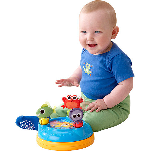 Lamaze Discover the Sea Carousel Crib Soother