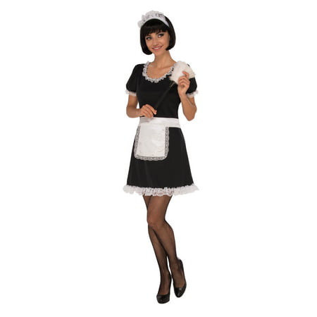 Saucy Maid Adult Costume - Deadpool Maid Costume