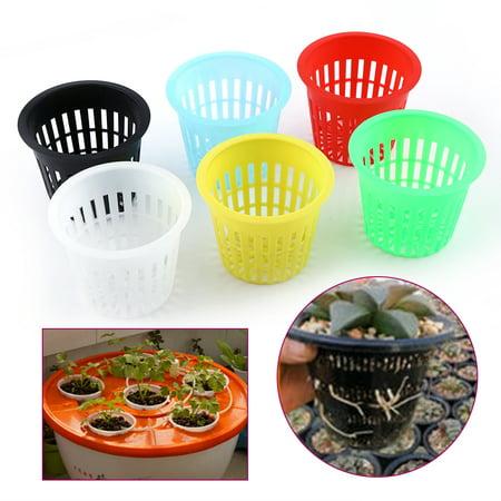 - 10pcs Heavy Duty Mesh Pot Net Cup Basket Hydroponic Plant Grow Clone Gardening, planting pot net, hydroponic mesh