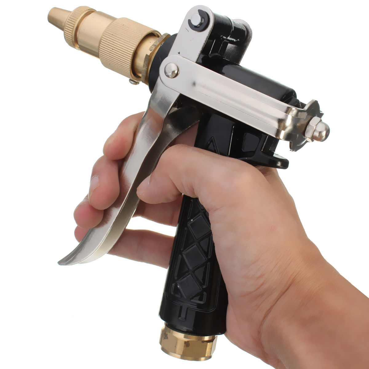 Grtsunsea High Pressure Squirt Gun Garden Auto Car Cleaning Washing Screw Type Sprayer