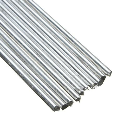 10Pcs Low Temperature TIG Aluminum Welding Rods Soldering Tools Soldering Brazing Repair Rods (Welding Cast Aluminum)