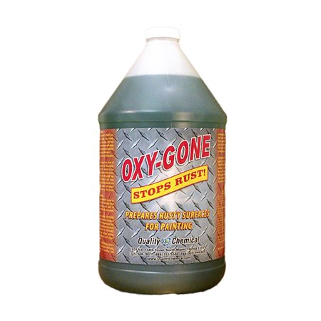 Oxy-Gone Rust Remover & Metal Treatment - 1 gallon (128