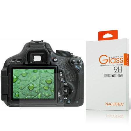 Nacodex HD Tempered Glass Screen Protector For Canon 70D / 700D /