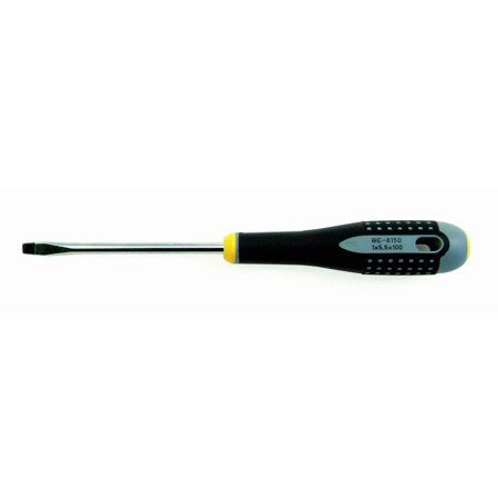 Ergo Screwdriver - BE-8155 9 3/4 Inch Ergo Slotted Screwdriver, 9 3/4 inches long By Bahco