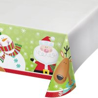 Creative Converting Characters Of Christmas Plastic Tablecloth